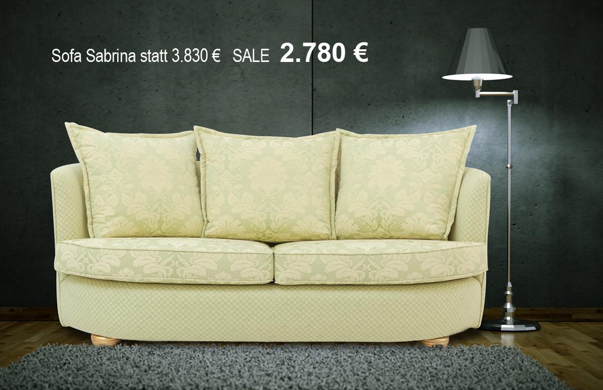 sabrina sofa gr n im toni herner m bellexikon. Black Bedroom Furniture Sets. Home Design Ideas
