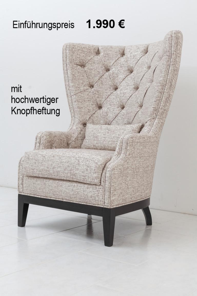 sessel mit knopfheftung im toni herner m bellexikon. Black Bedroom Furniture Sets. Home Design Ideas