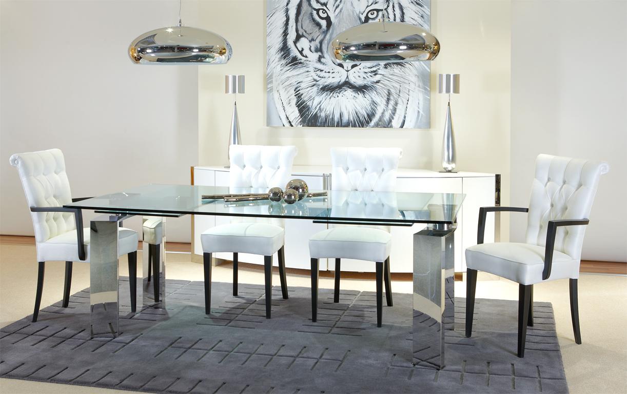 Esszimmer daytona mit design e tisch im toni herner for Table a manger pour studio